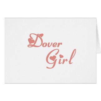 Dover Girl tee shirts Greeting Card