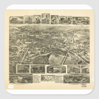 Dover New Jersey (1903) Square Sticker