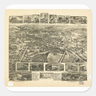 Dover New Jersey (1903) Square Sticker
