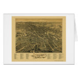 Dover, NH Panoramic Map - 1888 Card