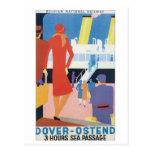 Dover Ostend  Belgian Railway Postcards