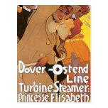 Dover-Ostend Line Postcard