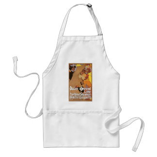 Dover Ostend Line Travel Poster Apron