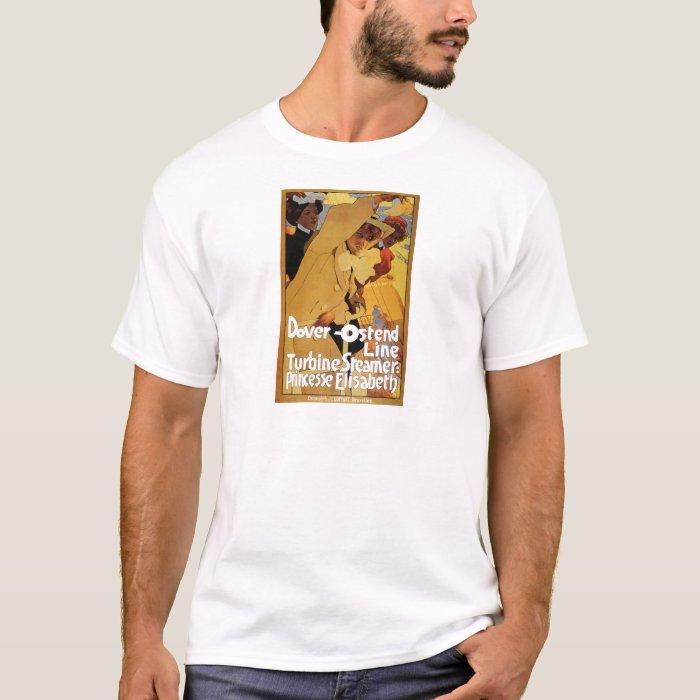 Dover Ostend Line Turbine Steamer T-Shirt