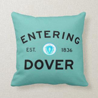 Dover que entra cojín