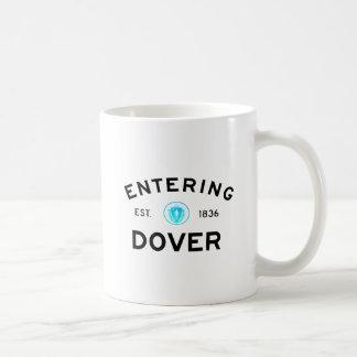 Dover que entra taza clásica
