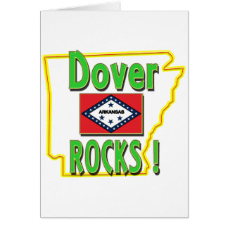 Dover Rocks ! (green) Card