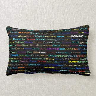 Dover Text Design I Lumbar Pillow