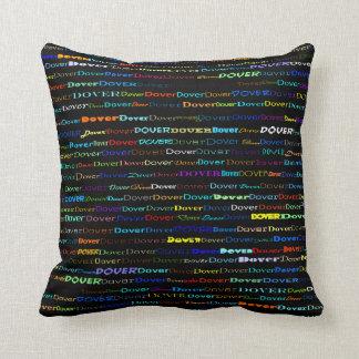 Dover Text Design I Throw Pillow