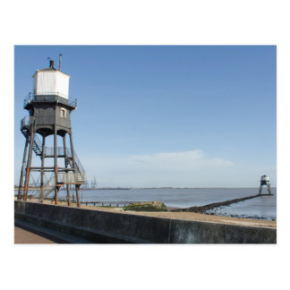 Dovercourt Lighthouses Essex Postcard