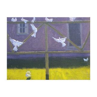 Doves 1999 canvas print