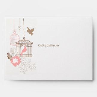 Doves & Cages - Envelopes