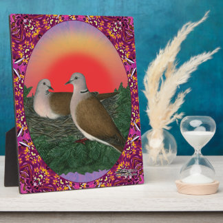 Doves Framed Plaque