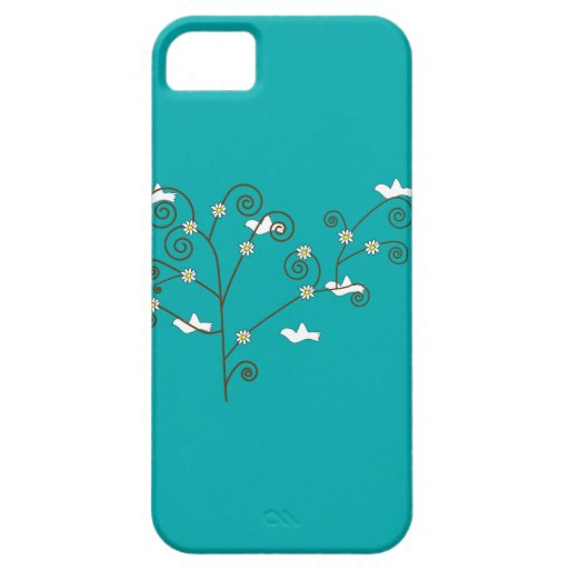 Doves in a Tree Case iPhone 5 Cases