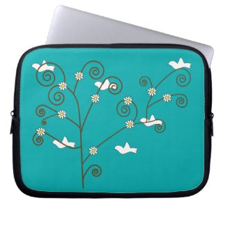 Doves in a Tree Electronics Bag