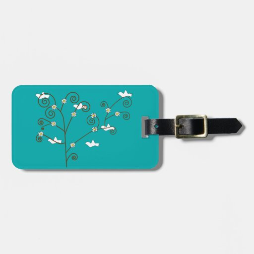Doves in a Tree Luggage Tag