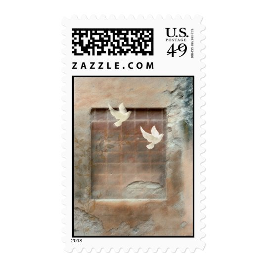 Doves in Flight Postage