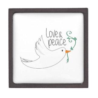 Doves_LoveAndPeace Cajas De Joyas De Calidad