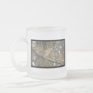 Doves of Life* Wildlife of Love ~ Frosted Glass Coffee Mug