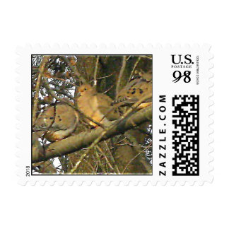 Dovey Doves Actual Stamps* Stamp