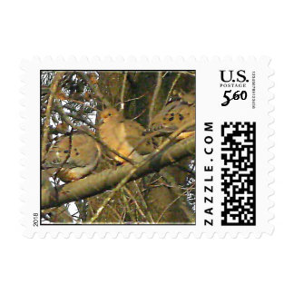 Dovey Doves Actual Stamps* Postage Stamp