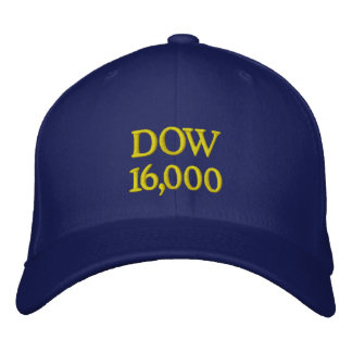 DOW 16000 EMBROIDERED BASEBALL CAP