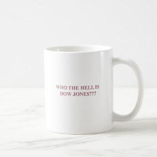 DOW JONES COFFEE MUG
