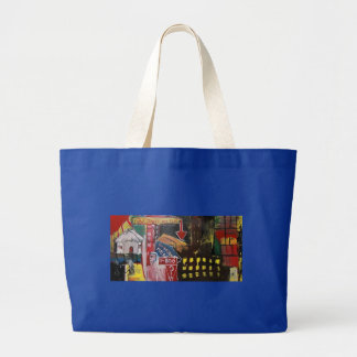 DOW JONES OFF LARGE TOTE BAG