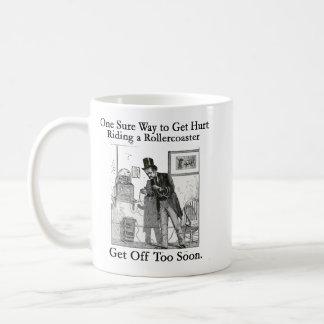 Dow Jones Rollercoaster - Stay On! Coffee Mug