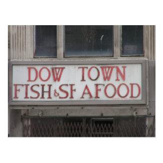 Dow Town Postcard