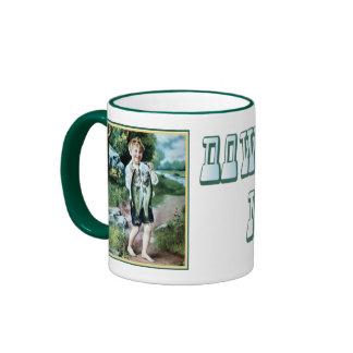 Dowagiac Michigan Ringer Coffee Mug