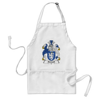 Dowall Family Crest Adult Apron