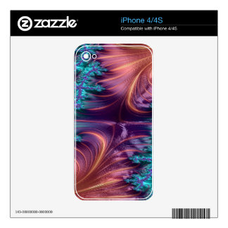 Dowdy Demon Fractal Skins For iPhone 4S