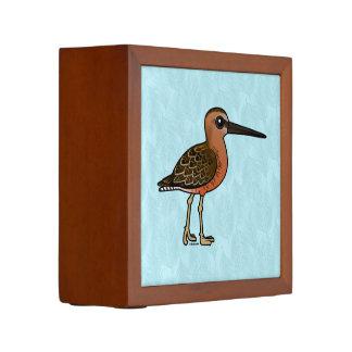 Dowitcher longirrostro de Birdorable Portalápices