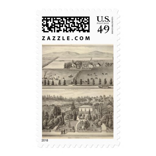 Dowling, Marston residences Postage Stamps