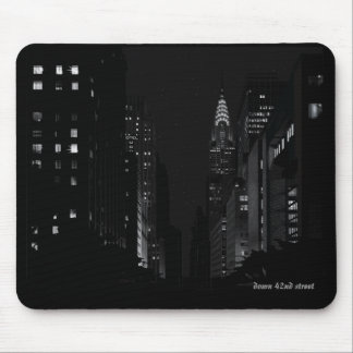 Down 42nd Street Mousepad