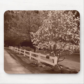 Down a Country Lane Mouse Pad