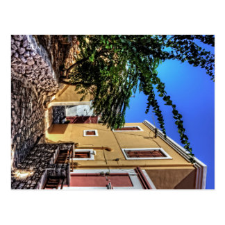 Down a Lane in Nimborio Postcard