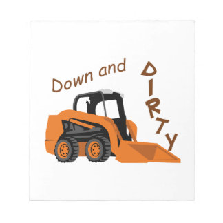 Down And Dirty Notepad