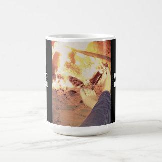 DOWN AT MY FEET! COFFEE MUG
