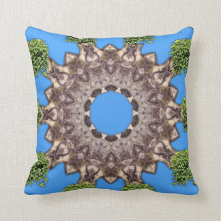 Down At The Palace. Throw Pillow