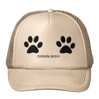 DOWN BOY TRUCKER HAT