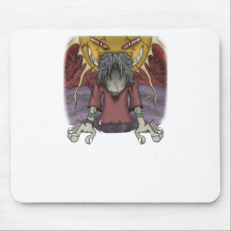 Down but not out mouse pad
