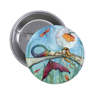 Down by the Pond Mermaid Art Pin