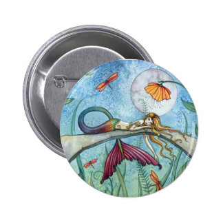 Down by the Pond Mermaid Art Pins