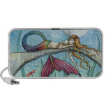 Down by the Pond Mermaid Doodle Speaker