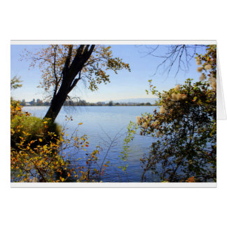 """""""Down by the river"""" Greeting Card"""