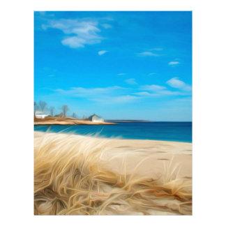 Down by the seashore letterhead
