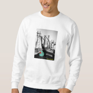 """Down by the Seaside"" Rubber Duck Sweatshirt"