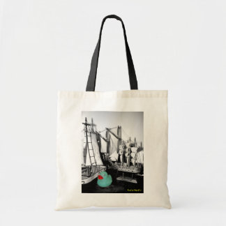 """Down by the Seaside"" Rubber Duck Tote bag"